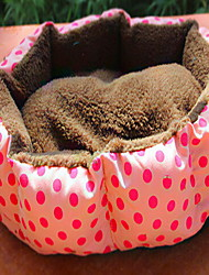 Dog Bed Pet Mats & Pads Soft Red Blue Pink Cotton