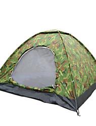 Etanche Respirabilité Résistant à la poussière Antimite Résistant au vent Ultra léger (UL) Anti-Moustique Pliable Portable Une pièce Tente