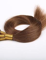 pelo virginal peruano inclino extensiones de cabello 0,5 g / s de 16 pulgadas - 24 pulgadas de grado 7a inclino extensiones de cabello