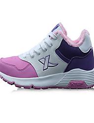 X-tep Tenisky Běžecké boty Dámské Protiskluzový Odolný proti opotřebení Ultra lehký (UL) Nositelný Outdoor Výkon PVC kůže GumaBěhání