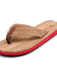 Men's Slippers & Flip-Flops Summer Comfort Nylon Outdoor Casual Flat Heel Blue Green Red White Walking