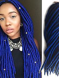 Havana Crochê Dreadlocks Extensões de cabelo fibra sintética Tranças de cabelo