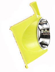 Cat Dog Feeders Pet Bowls & Feeding Portable Yellow Stainless Steel