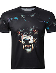 The Latest Fashion Men 's Personality Short - Sleeved T - Shirt
