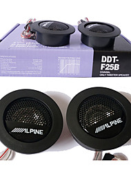 alto-falante alto-falante alpine car audio mini-dome tweeter universal de alta eficiência carro 1pair de super tweeters carro de som