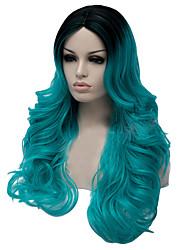 New High-Quality European and American Popular Fiber Wig