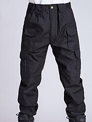 Unisexe Chasse Pare-vent Zip frontal Vestimentaire Printemps Eté Automne Hiver Noir32 34 36 38