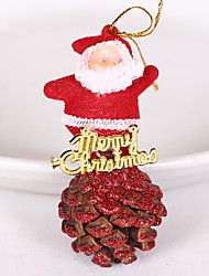 Pinecone Old Man Melange Christmas Tree Widgets Set Decoration Gifts