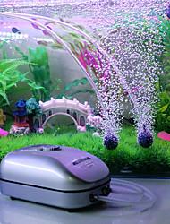 Aquarium Pompe à air Contrôle manuel de la température Sans Bruit Plastique AC 220-240V
