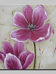 Large Hand Painted Pink Flowers Oil Painting On Canvas Modern Wall Art Picture For Living Room Home Decoration Ready To Hang