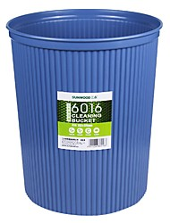 Sunwood®  6016 Thickening And Durable Round Basket/Cleaning Barrels/Blue Bin 26 Cm Diameter
