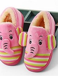 Unisex Slippers & Flip-Flops Comfort Fur Casual Pink Chocolate Fuchsia
