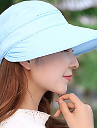 Anti - Ultraviolet Large Eaves Outdoor Shade Sun Hat Beach Caps Outdoor Dual - Use Zipper Empty Top Hat