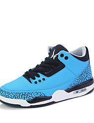 Men's Athletic Shoes Fall Other Other Animal Skin Outdoor Low Heel Lace-up Blue Red Black/White Walking