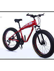 Mountain Bike Cycling 21 Speed 26 Inch/700CC 40mm Men's SAIGUAN EF-51 Double Disc Brake Suspension Fork Aluminium Alloy FrameAluminium