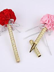 nouveau ruban marqueur stylo pur à la main de fête de mariage de signature (remplissage d'or)