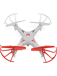 Keliwow Q7 2.4GHz 4 CH 6 Axis Gyro RC Quadcopter with HD Camera 360-degree Rolling Easy to Fly