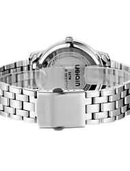 Men's Fashion Watch Japanese Quartz Water Resistant/Water Proof Stainless Steel Band Silver Brand