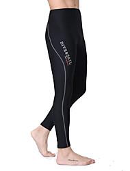 Dive&Sail® Women's Men's Unisex 1.5mm Dive Skins Wetsuit PantsWaterproof Breathable Thermal / Warm Quick Dry Ultraviolet Resistant