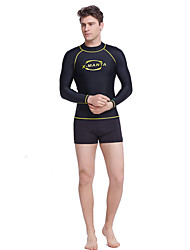 Dive & Sail® Homme 1mm Costumes humides Combinaisons étanches Combinaison de plongée Combinaison CourteEtanche Respirable Garder au chaud