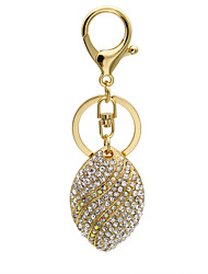The diamond inlaid all-match Fashion Pendant diamond 0174# Keychain
