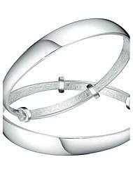 Bracelet Bracelets Rigides Argent sterling Autres Mode Anniversaire Bijoux Cadeau Argent,1 paire