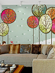 JAMMORY Art DecoWallpaper For Home Wall Covering Canvas Adhesive required Mural Children's Room Drawing XL XXL XXXL