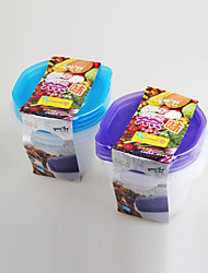 Food Grade Microwavalbe Food Container for Soup 4pcs/Set