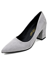 Women's Heels Spring Other Comfort PU Casual Low Heel Others Black Pink Purple Red Gray Other