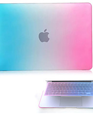 "Case for Macbook Pro 12"" Color Gradient Plastic Material High Quality Hard Protective Matte Gradient Color Full Body Case and TPU Keyboard Cover"