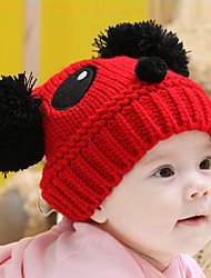 Unisex Knitting Cute Winter Going out/Casual/Daily Boy And Girl Keep Warm Panda Woolen Hat Children Cap