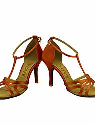 Для женщин-Атлас-Персонализируемая(Черный Синий Желтый Розовый Фиолетовый Красный Белый) -Латина Сальса