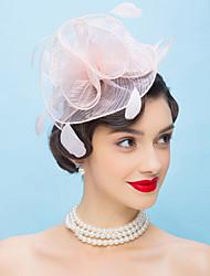 Women's Feather Organza Headpiece-Wedding Special Occasion Headbands Flowers 1 Piece