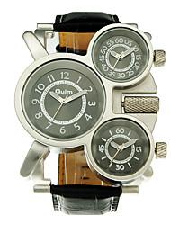 3 Colors Quartz & Leather Band Man Fashion Men Casual Men's Sport Watch