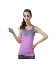 Women's Running Tops Quick Dry Breathable Soft Spring Summer Winter Fall/Autumn Sports WearYoga Pilates Exercise & Fitness Leisure Sports