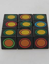 Brinquedos Cube velocidade lisa 1 * 3 * 3 Cubos Mágicos Arco-Íris Etiqueta lisa / ABS