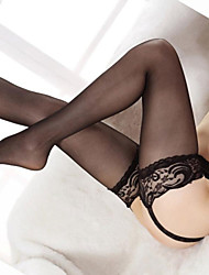 Women Thin Pantyhose , Lace / Mesh