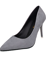 Women's Heels Spring Other PU Wedding Dress Casual Stiletto Heel Others Black Pink Red Light Grey