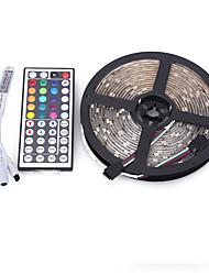 5m 5050 300 smd ip65 rgb ac 12v mit 44 Tasten-Fernbedienung Licht-Set