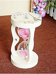 Hourglasses Glass White