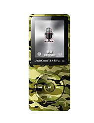 Uniscom MP3 MP3 / WMA / WAV / FLAC / APE / OGG / AAC Rechargeable Li-ion Battery