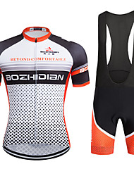 AOZHIDIAN Summer Cycling Jersey Short Sleeves BIB Shorts Ropa Ciclismo Cycling Clothing Suits #AZD017