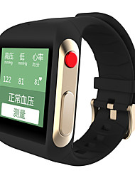 OEM Nano SIM Card Bluetooth4.0 iOS Android Blood Pressure and Osram Heart Rate Monitor SOS Buttom for Old People 256MB
