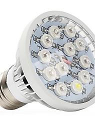 12W E14 GU10 E26/E27 Lampes Horticoles LED 12 LED Haute Puissance 290-330 lm Blanc Naturel UV (Lumière Noire) Rouge Bleu AC 85-265 V1
