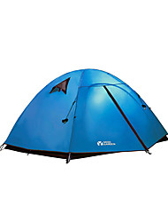 2 persons Tent Double Automatic Tent One Room Camping Tent OxfordWaterproof Breathability Ultraviolet Resistant Windproof Keep Warm Ultra