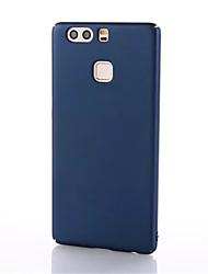 Pour Ultrafine Coque Coque Arrière Coque Couleur Pleine Dur Polycarbonate pour HuaweiHuawei P9 Huawei P9 Lite Huawei P9 plus Huawei Honor