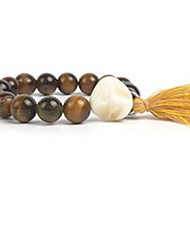 Women's Strand Bracelet Tassel Beaded Gemstone Pearl Shell Jewelry For Casual 1pc