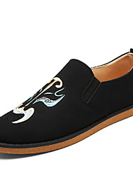 Men's Shoes Casual Loafers Black /Grey/Blue