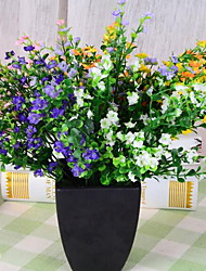 1 Branch 5 Forks Lavender Artificial Flowers (Random Colors)
