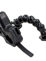 TELESIN Jaws Flex Clamp Mount with Adjustable Neck for Gopro Hero5 Hero 4 Hero 3 Camera Sjcam Sj4000 Sj5000 Sj6000